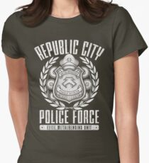 Avatar Republic City Police Force Womens Fitted T-Shirt