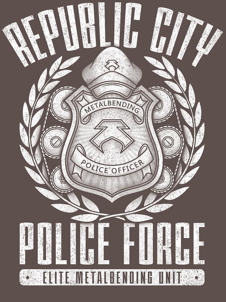 Avatar Republic City Police Force | Unisex T-Shirt