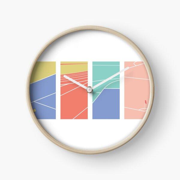 Sport design Clock