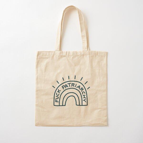 Fuck Patriarchy blue - Féministe Tote bag classique