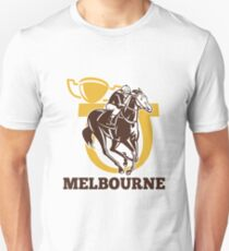 horse race jockey racing champion cup Unisex T-Shirt