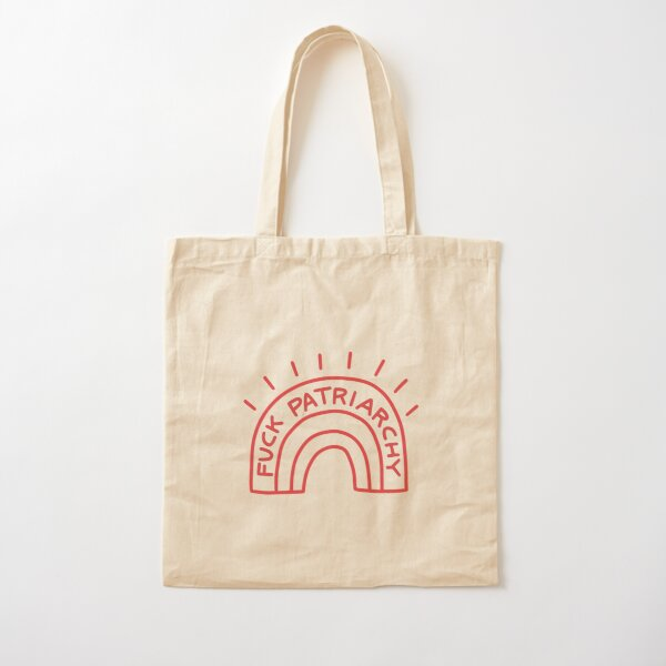 Fuck Patriarchy - Feminist Cotton Tote Bag