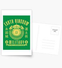 Avatar Earth Kingdom Postcards