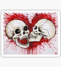 Beyond death Sticker
