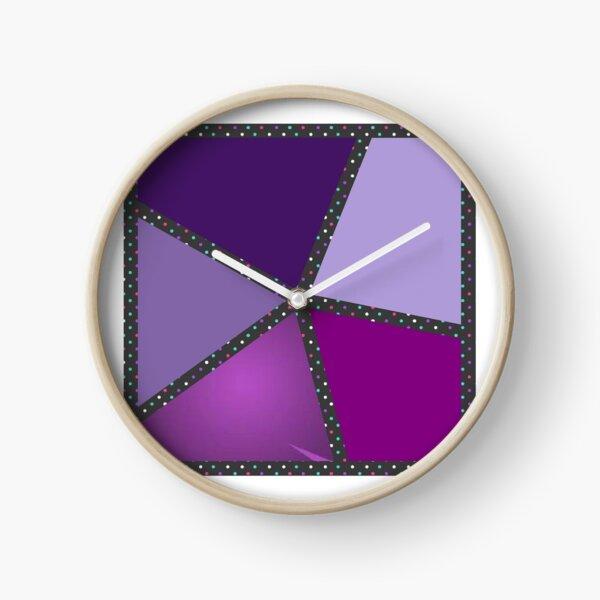 Stars design spring Clock