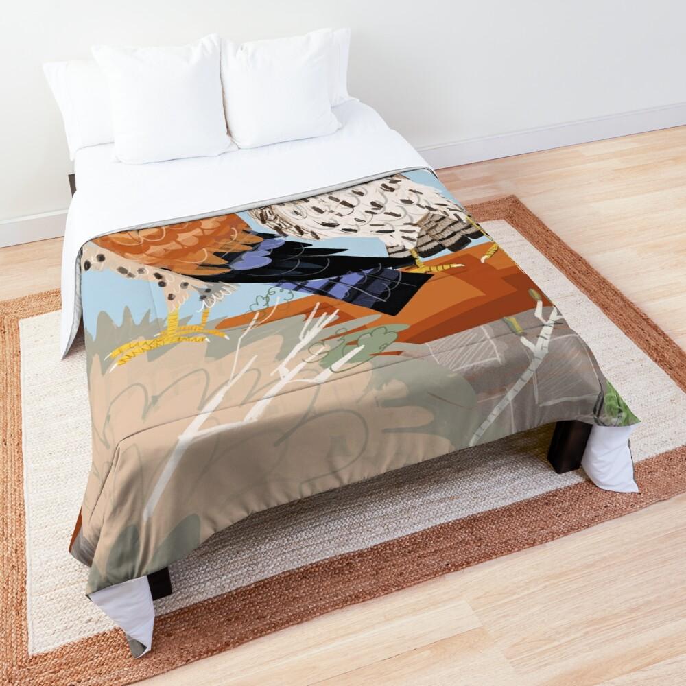 Lesser kestrel Comforter