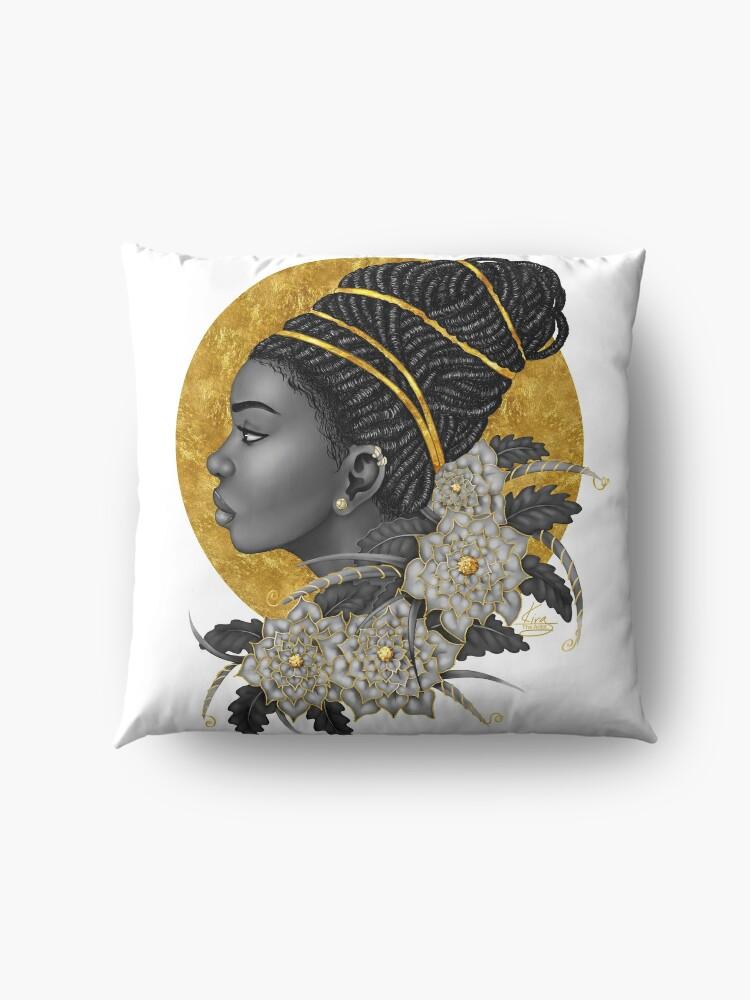 Alternate view of Golden Floor Pillow