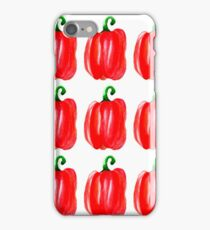 sweet pepper iPhone Case/Skin