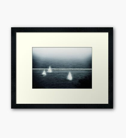 Just a memory © Framed Print