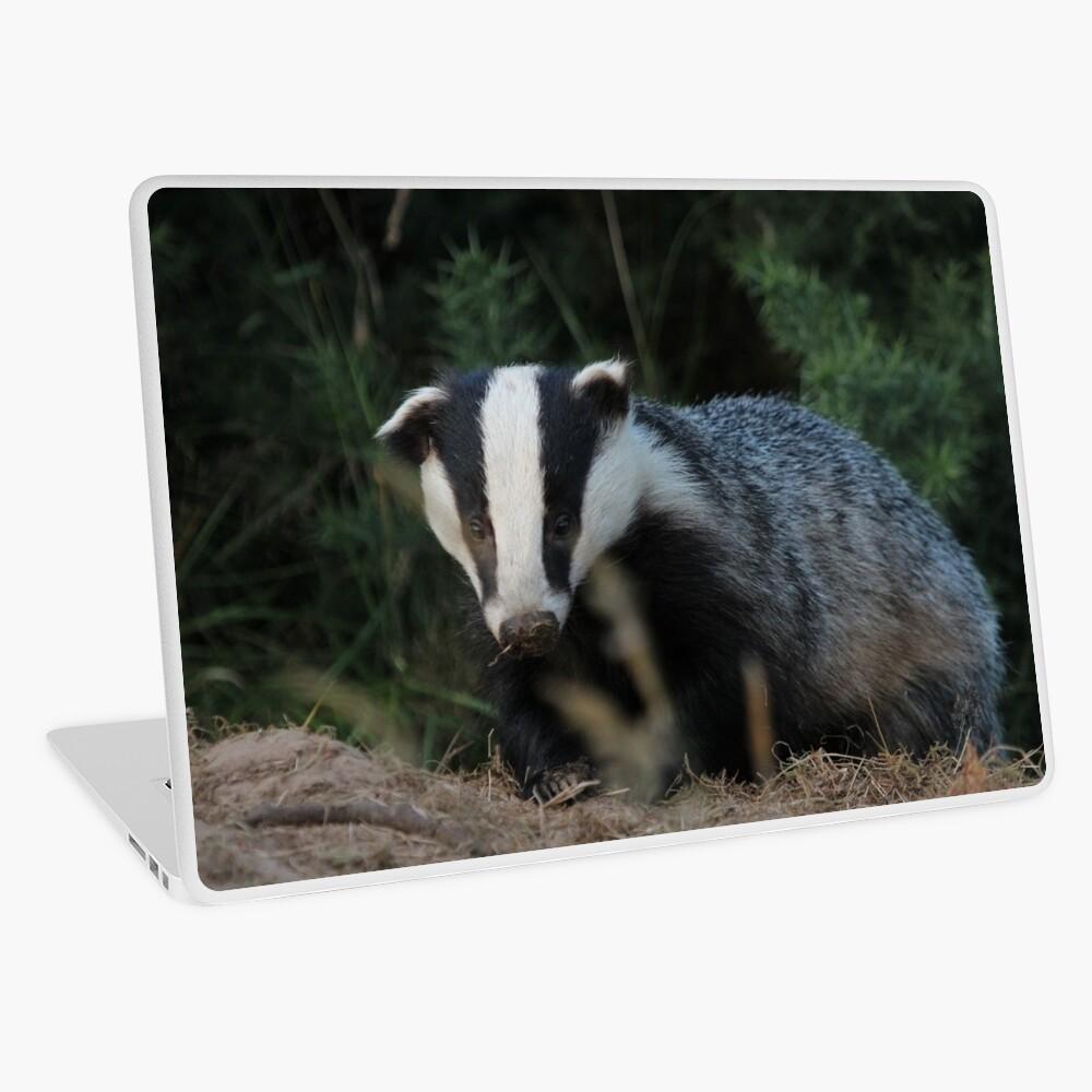 Badger Laptop Skin