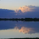 Storm approaching at sunset. by elphonline