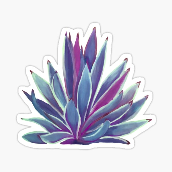 Blue Agave Sticker