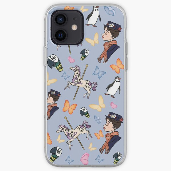 Mary Poppins Pattern iPhone Soft Case