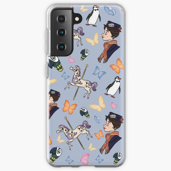 Mary Poppins Pattern Samsung Galaxy Soft Case