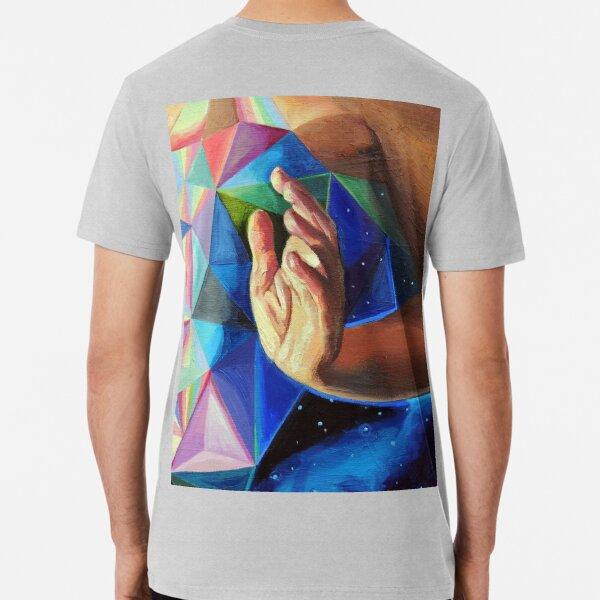 Quantum Healing Visions detail  Premium T-Shirt