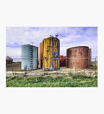 Rusty Vessel Photographic Print