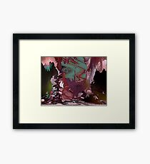 'Middle Earth Stirring Restlessly' Framed Print