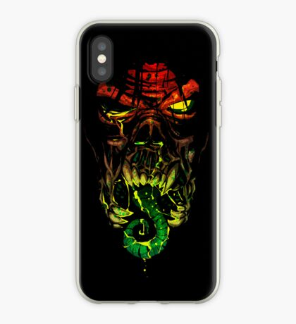 The Horror - a Feast of Blood and Pus. iPhone Case