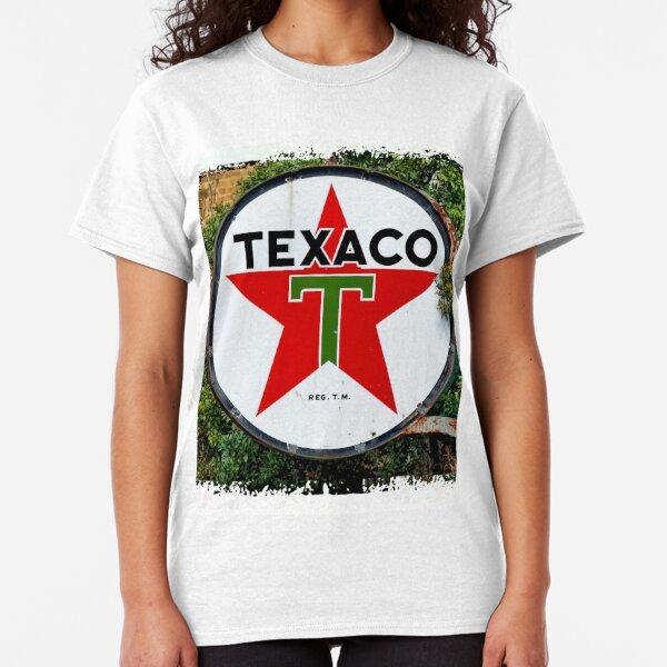 Round Texaco Sign Classic T-Shirt