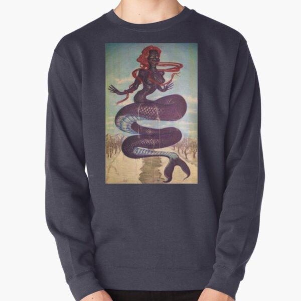 PURPLE SPRING FLING Pullover Sweatshirt