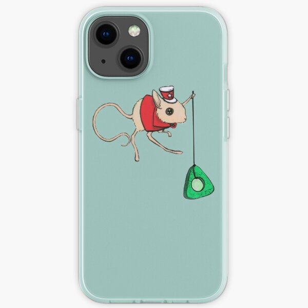 Coraline Circus Mouse Fan-Art (smaller) iPhone Soft Case