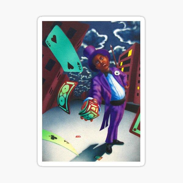 Midnight Magician  Sticker