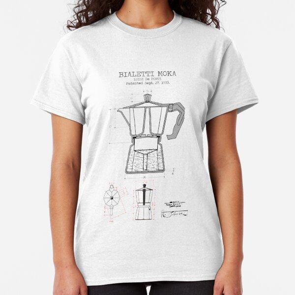 MOKA COFFEE PATENT Classic T-Shirt
