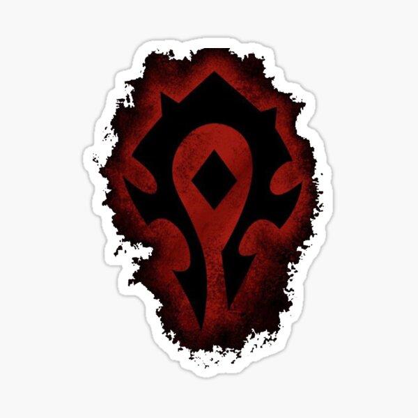 Red Horde Logo Sticker