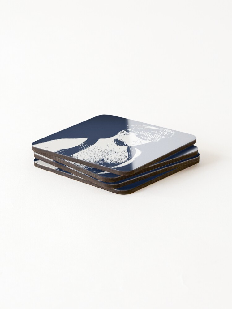 Alternate view of Leather (Color Block) Coasters (Set of 4)