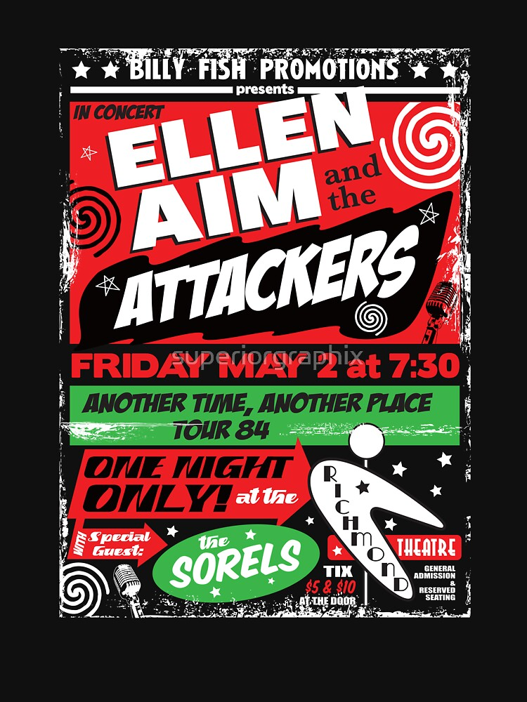Ellen Aim and the Attackers | Unisex T-Shirt