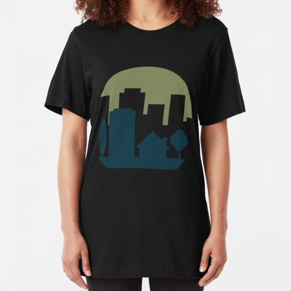 City Suburb Slim Fit T-Shirt