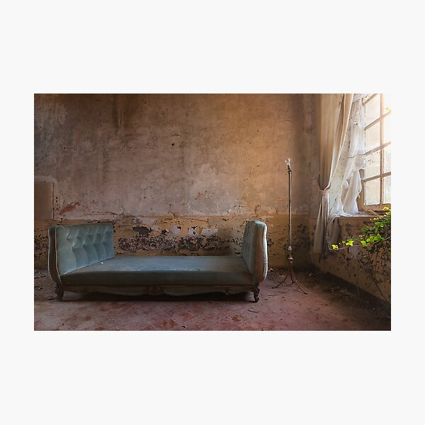 Lost nobility, former castle in France Photographic Print