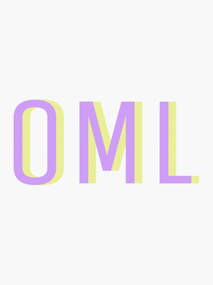 oml sticker by MelissaJessup