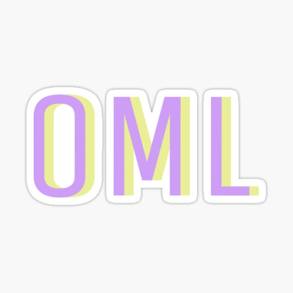 oml sticker Sticker