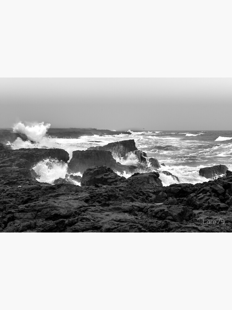 The force of the sea at Reykjanes peninsula  by Lore79