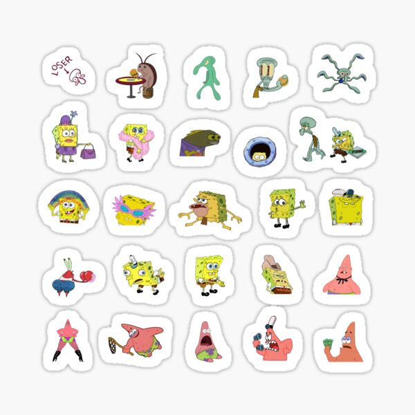 Ultimate Spongebob Sticker Pack Sticker
