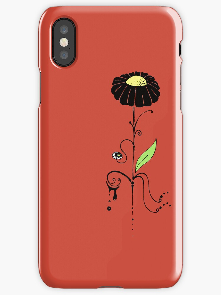 iPhone Flower by eleveneleven