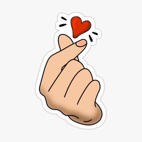 Símbolo de amor Pegatina