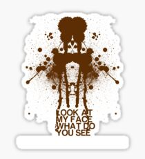 Inkblot Sticker