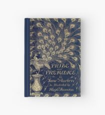Pride and Prejudice Peacock Cover Hardcover Journal