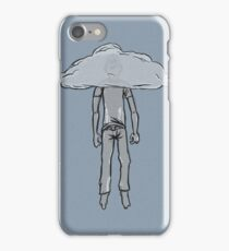 hanging from cloud iPhone Case/Skin