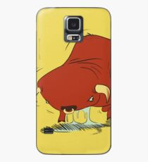 vibrating bull Case/Skin for Samsung Galaxy