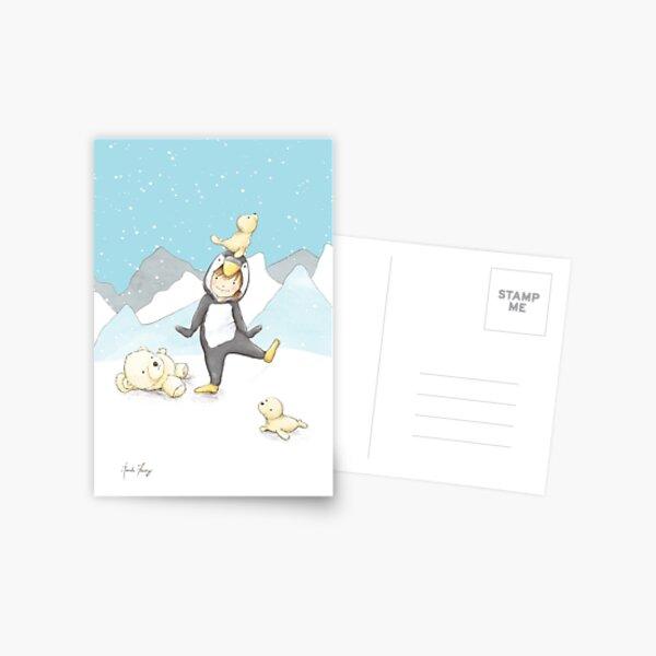 Penguin Dance Postcard