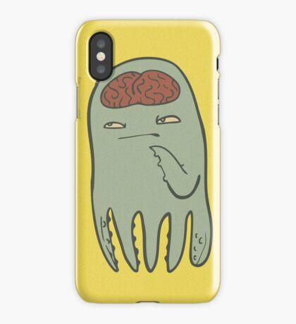 squids got brains too iPhone Case/Skin