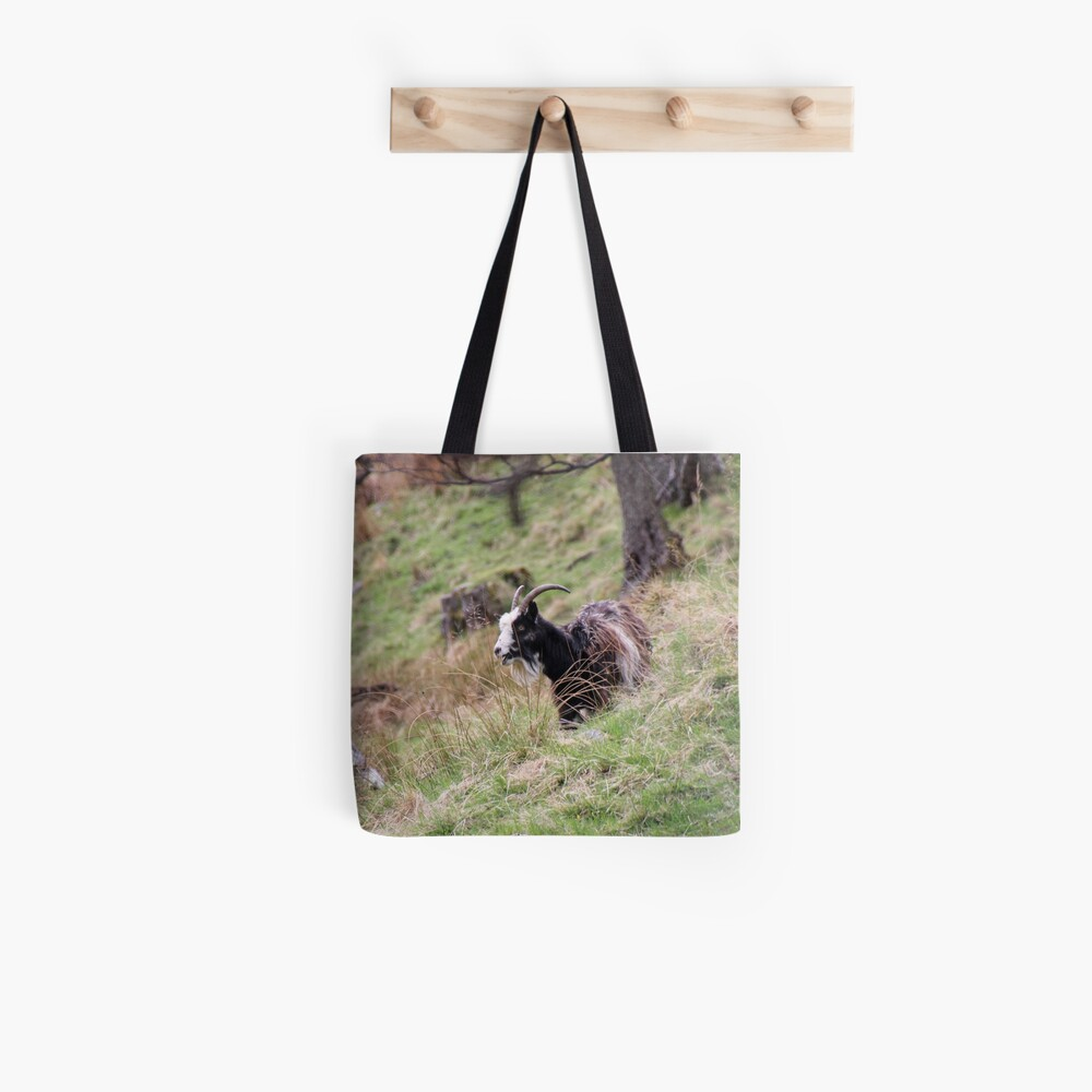 Wild goat Tote Bag