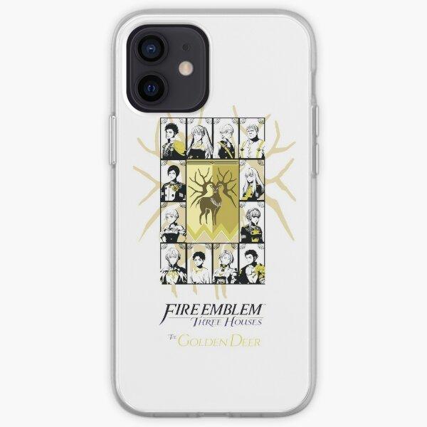 Fire Emblem Three Houses Golden Deer Print 2 iPhone Soft Case