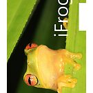 iFrog - iPhone Case by Adam Gormley