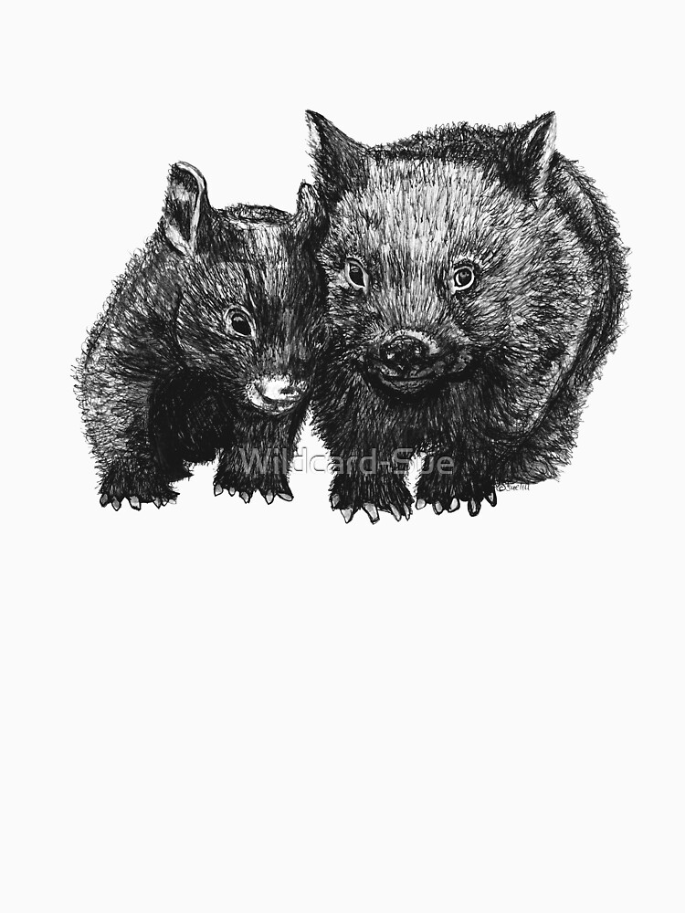 David and Betty Wombat by Wildcard-Sue