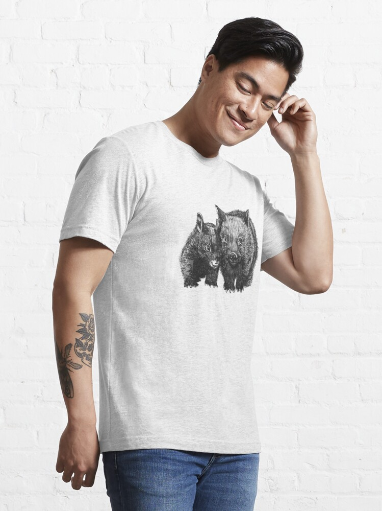 Alternate view of David and Betty Wombat Essential T-Shirt