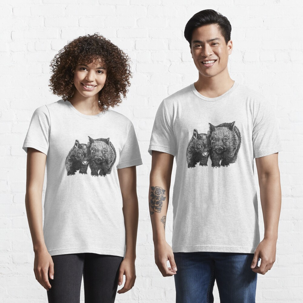 David and Betty Wombat Essential T-Shirt